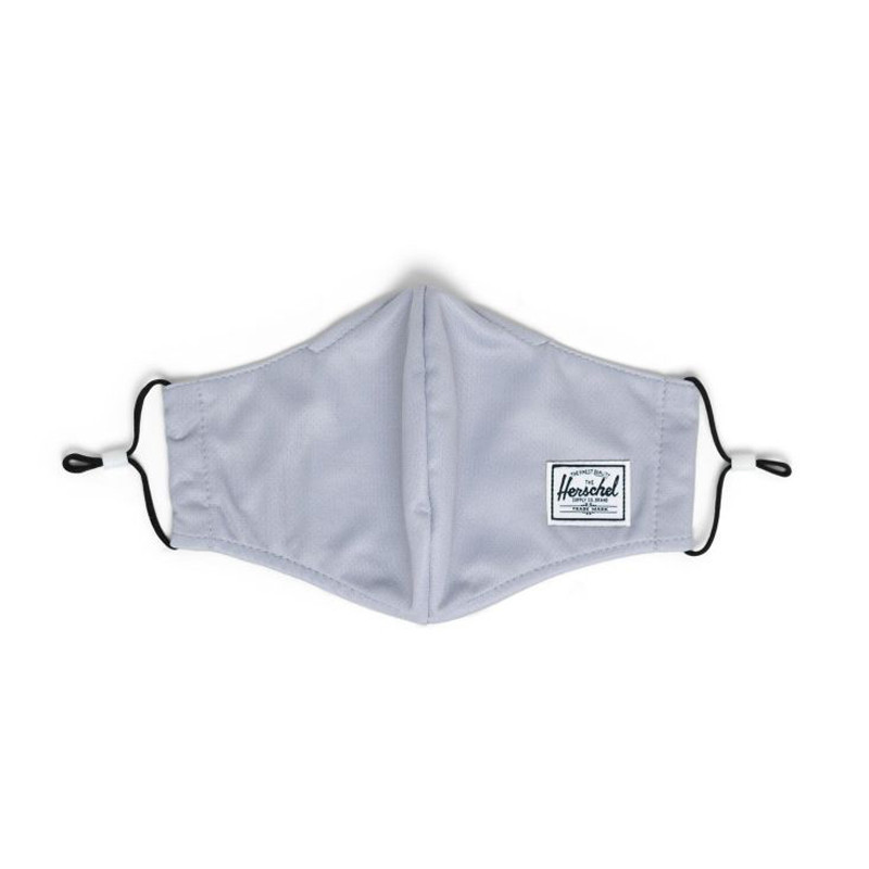 Mascarilla Herschel: EX Face Mask (Light Grey)
