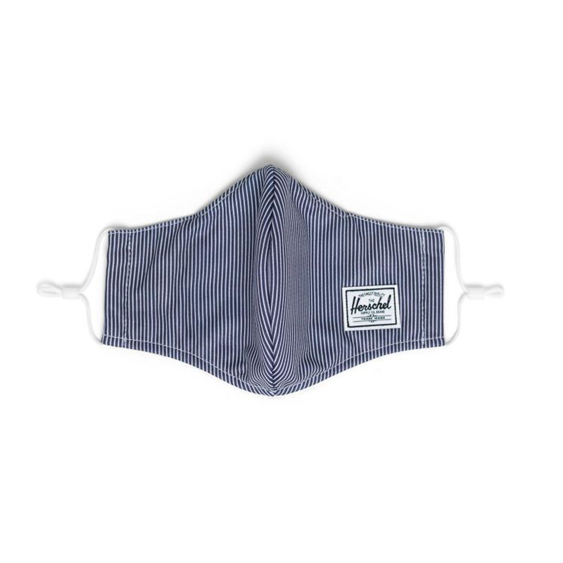 Mascarilla Herschel: EX Face Mask (Peacoat Engineered Stripe)