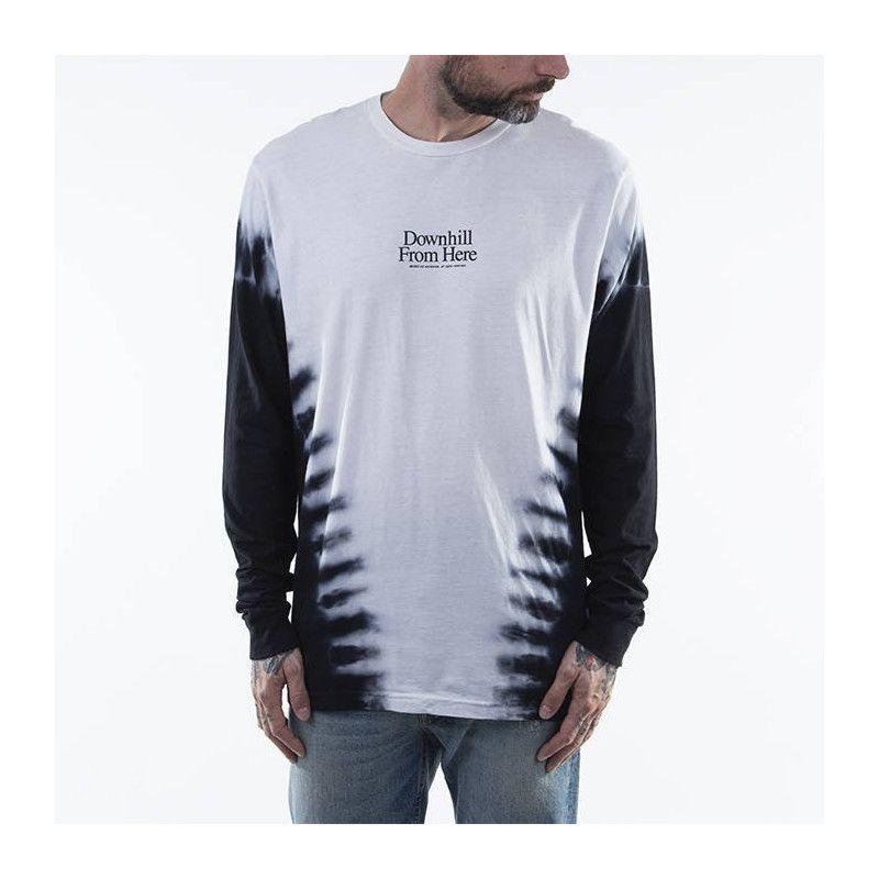 Camiseta HUF: WIDOW LS TEE (WHITE)
