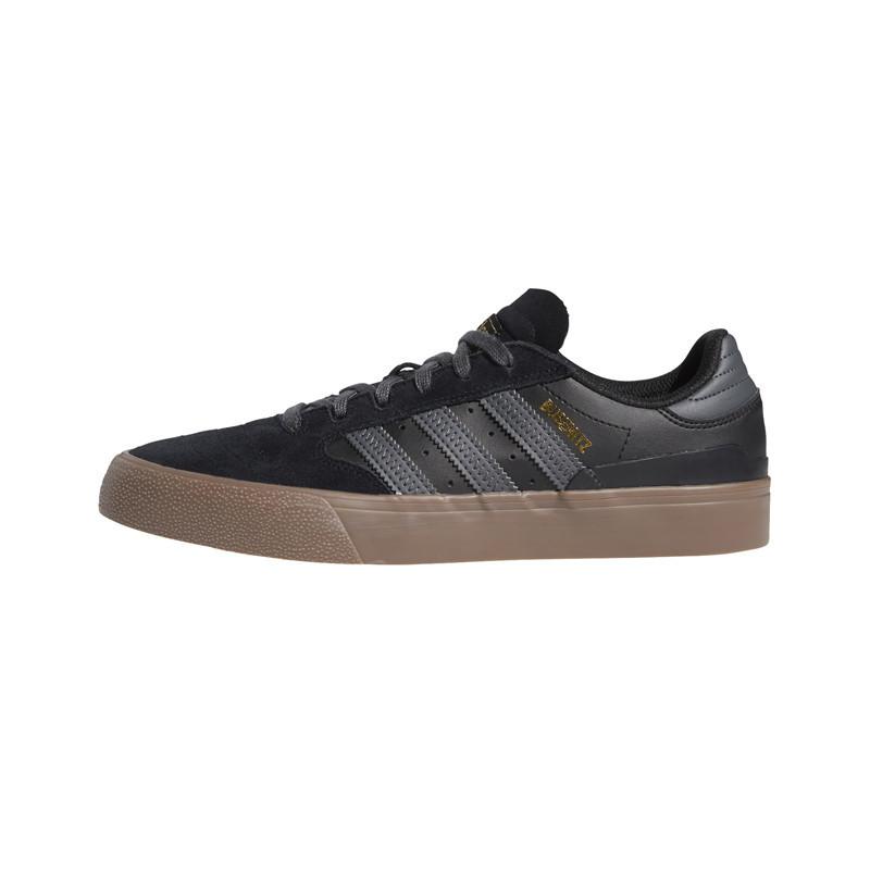 Zapatillas Adidas: Busenitz Vulc II (Core Black Grey Six Gum)