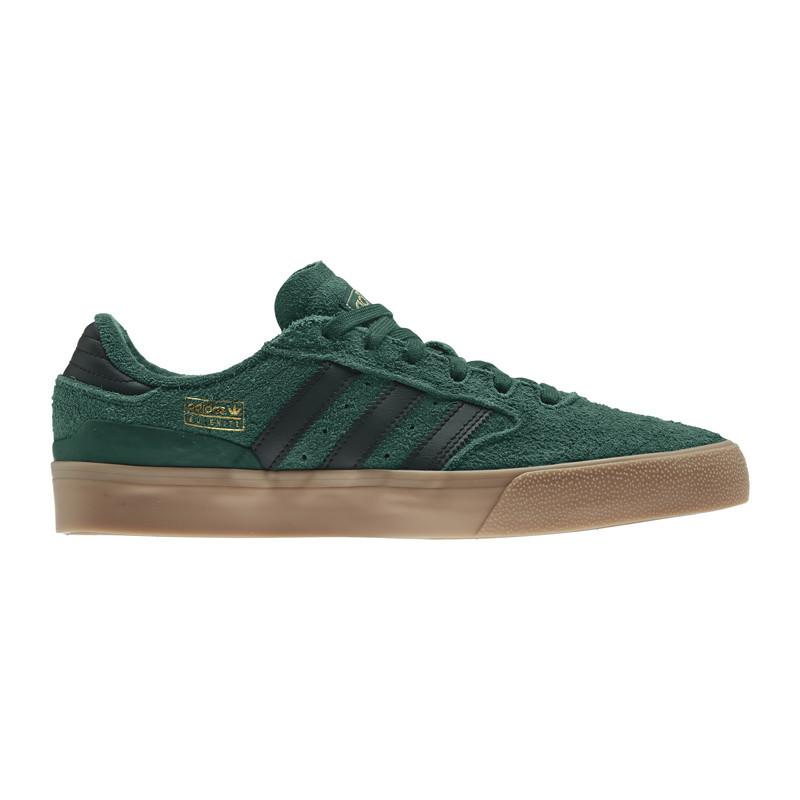 Zapatillas Adidas: Busenitz Vulc II (Colleg Green Core Blk G)