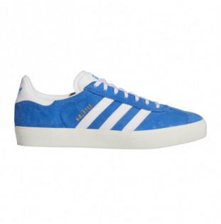 Zapatillas Adidas: Gazelle Adv (Bluebird White Chalk White) Adidas - 1