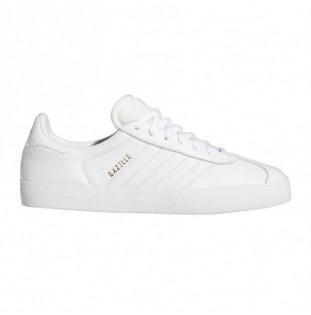 Zapatillas Adidas: Gazelle Adv (Ftwr Wht Ftwr Wht Gold) Adidas - 1