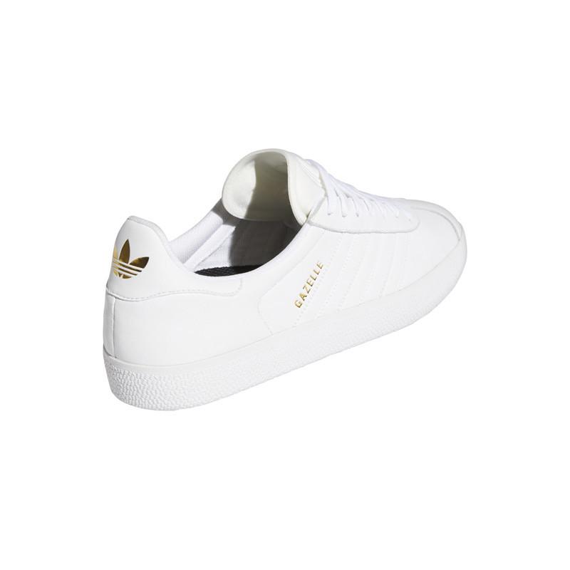 Zapatillas Adidas: Gazelle Adv (Ftwr Wht Ftwr Wht Gold)