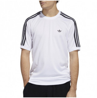 Camiseta Adidas: Aero Club Jrsy (White Black) Adidas - 2