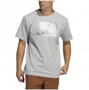 Camiseta Adidas: Omeally Ss Tee (Medium grey Heather) Adidas - 1
