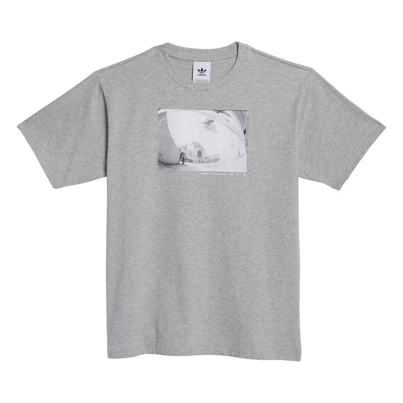 Camiseta Adidas: Omeally Ss Tee (Medium grey Heather)