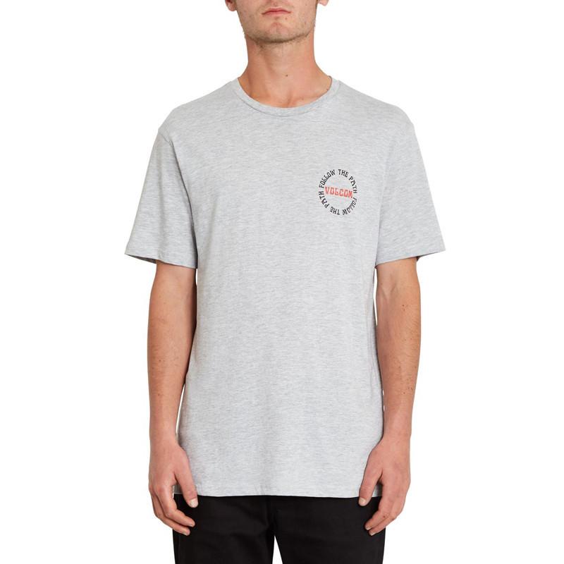 Camiseta Volcom: Dither Bsc SS (Heather Grey)