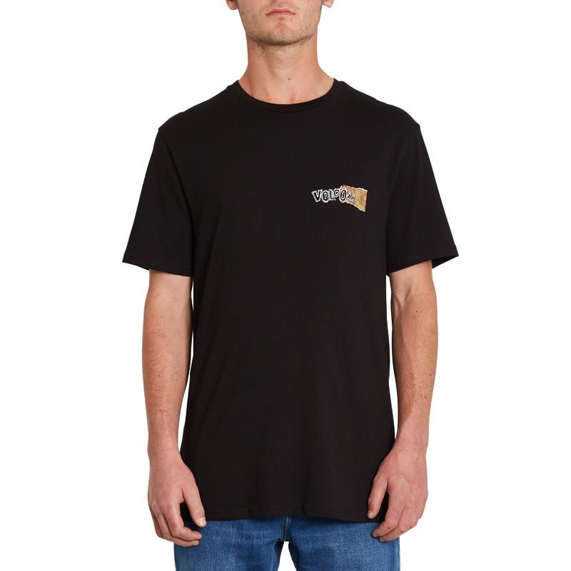 Camiseta Volcom: Worlds Collide Bsc SS (Black)
