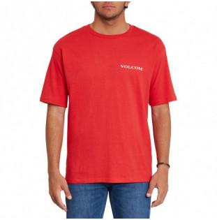 Camiseta Volcom: Volcom Stone LSe SS (Carmine Red) Volcom - 1