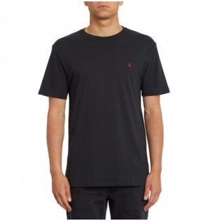 Camiseta Volcom: Stone Blanks Bsc SS (Black) Volcom - 1