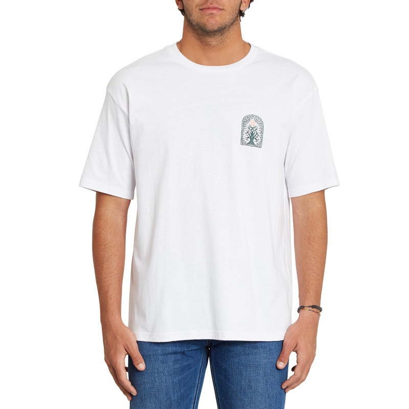 Camiseta Volcom: Rootsy LSe SS (White)