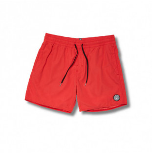 Bañador Volcom: Lido Solid Trunk 16 (Carmine Red) Volcom - 1