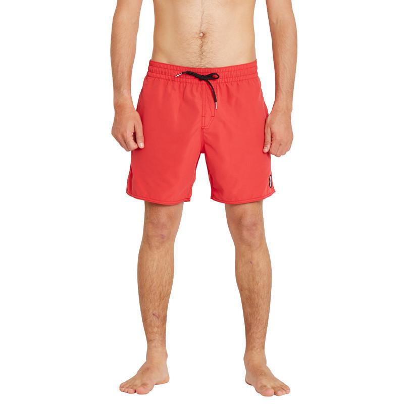 Bañador Volcom: Lido Solid Trunk 16 (Carmine Red)