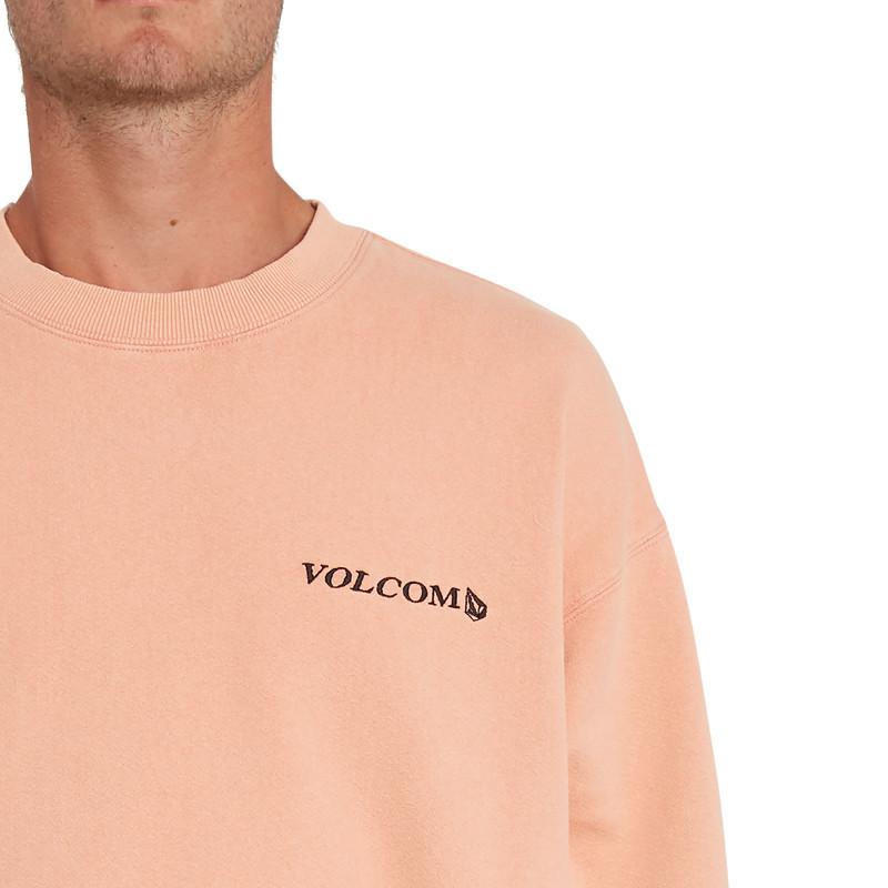 Sudadera Volcom: Harcid Wash Crew Fleece (Clay Orange)