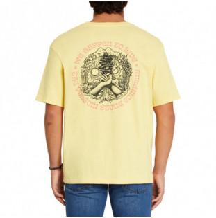 Camiseta Volcom: Gridlock LSe SS (Dawn Yellow) Volcom - 1