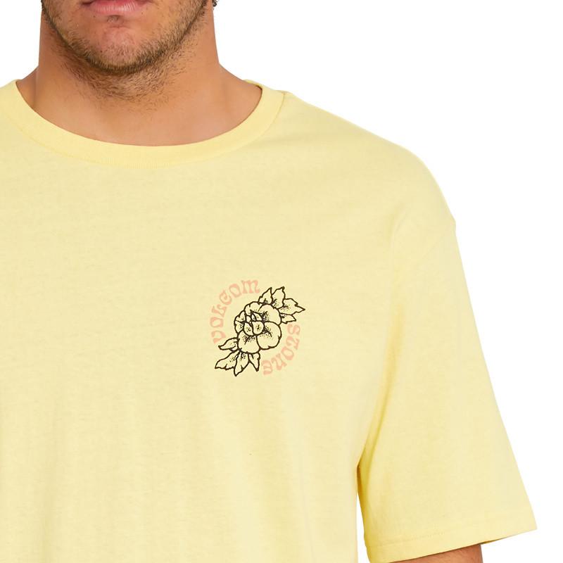 Camiseta Volcom: Gridlock LSe SS (Dawn Yellow)