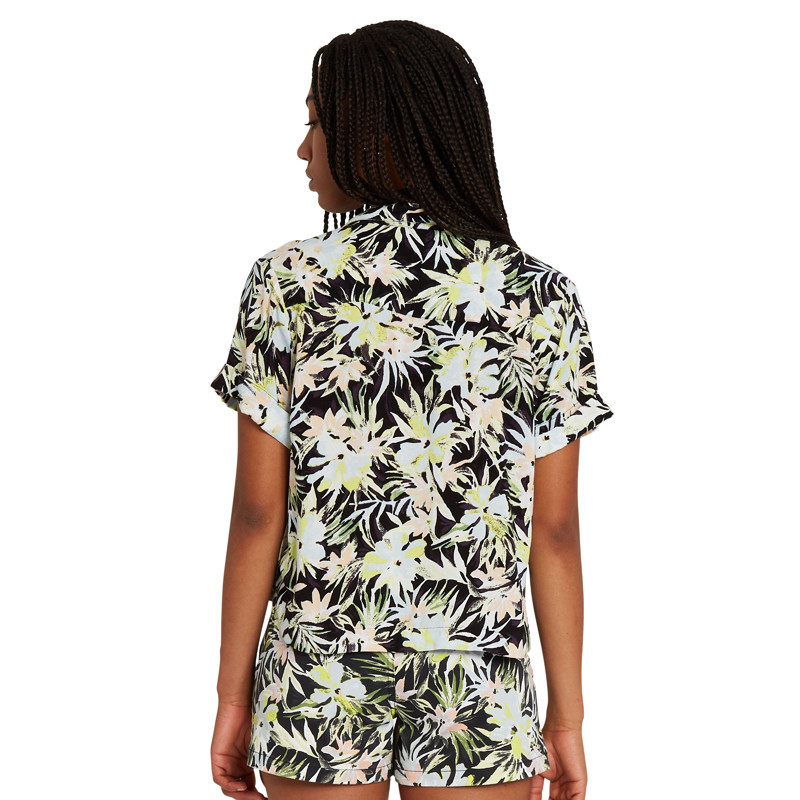 Camisa Volcom: Cant Be Tamed SS (Lime)