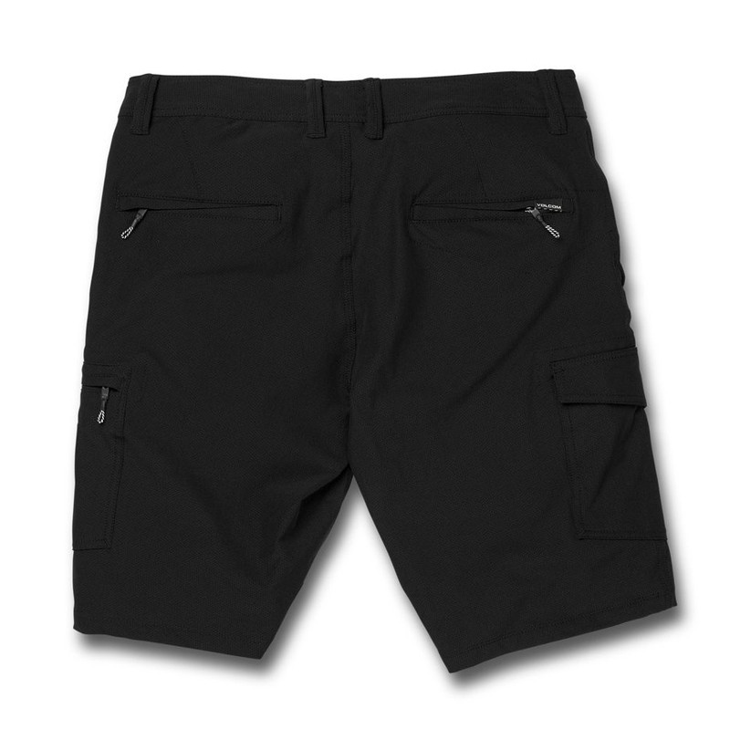 Bermuda Volcom: Snt Dry Cargo 21 (Black)