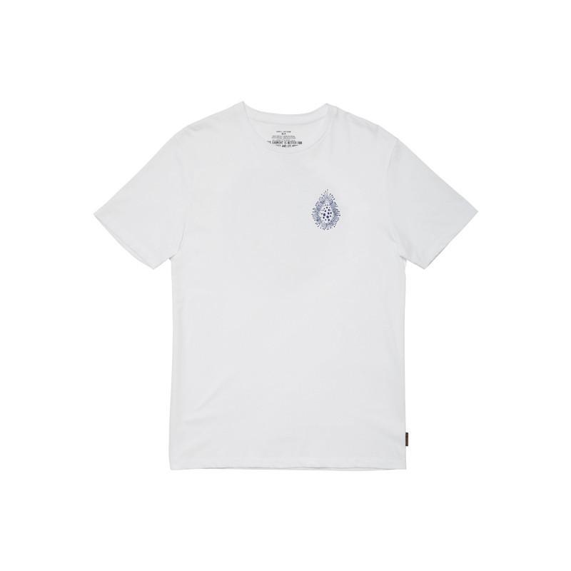 Camiseta Volcom: Coral Morph SS (White)