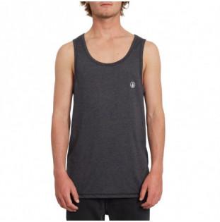 Camiseta Volcom: Circle Blanks Hth Tt (Heather Black) Volcom - 1