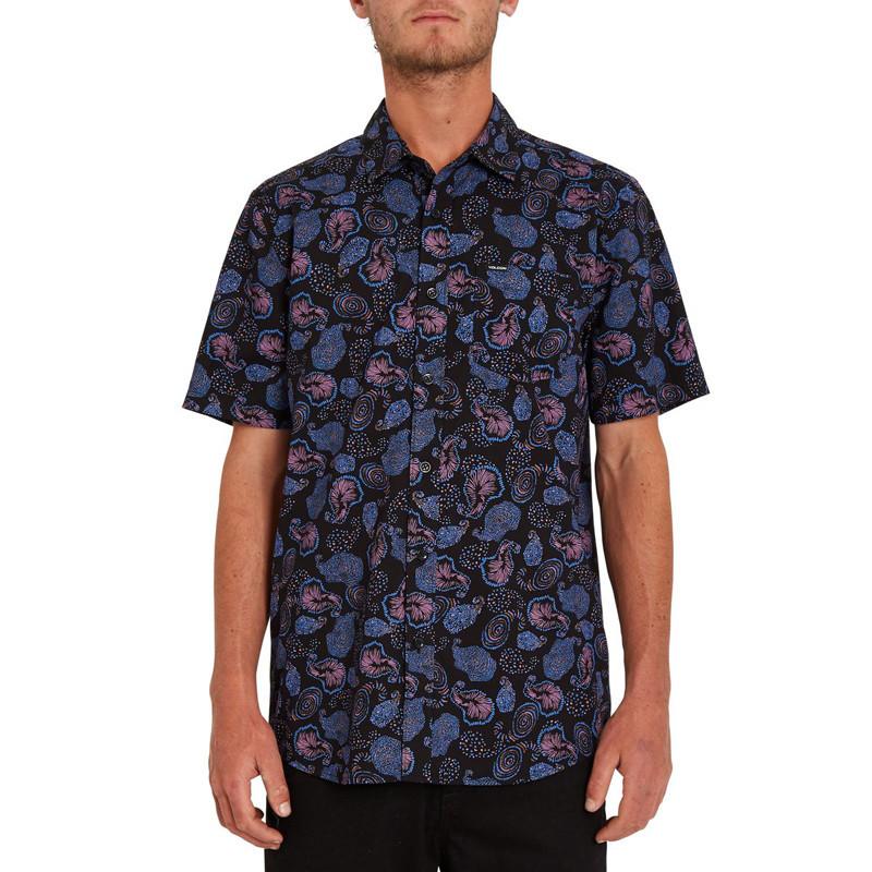 Camisa Volcom: Honoroma SS (Black)