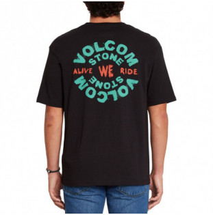 Camiseta Volcom: We Ride LSe SS (Black) Volcom - 1