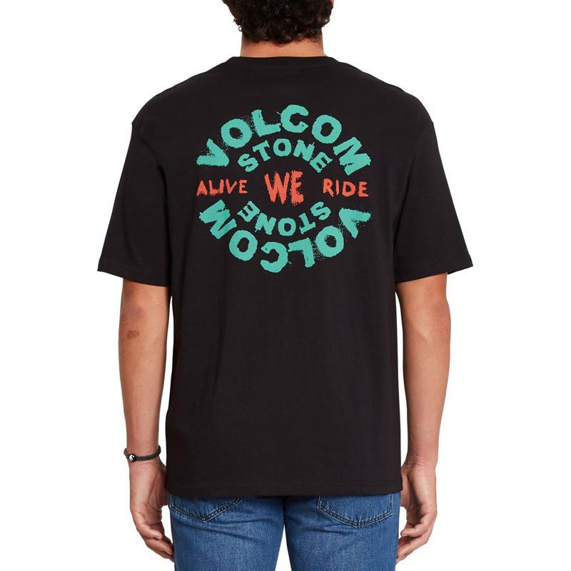 Camiseta Volcom: We Ride LSe SS (Black)