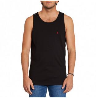 Camiseta Volcom: Stone Blanks Bsc Tt (Black) Volcom - 1