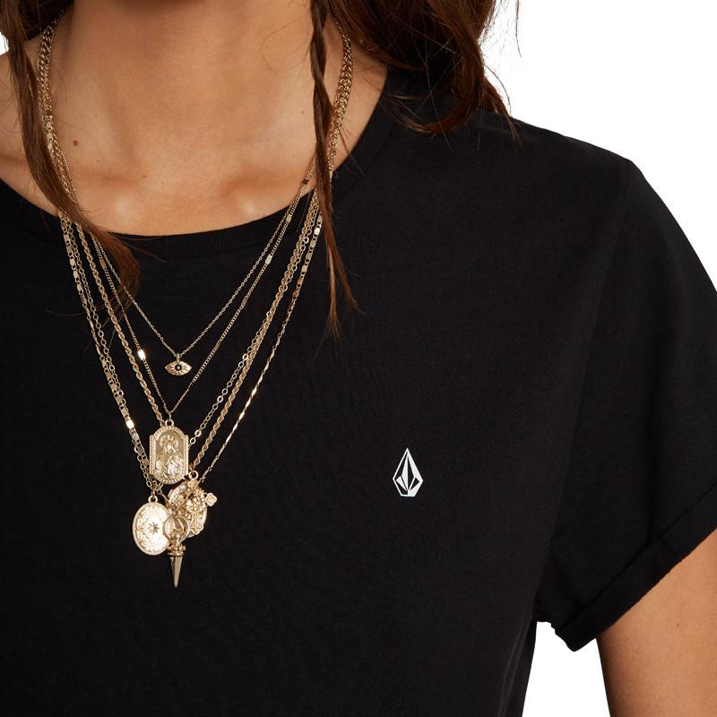 Camiseta Volcom: Stone Blanks Tee (Black)