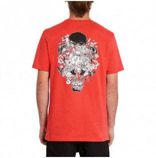 Camiseta Volcom: Fortifem Fa SS (Carmine Red) Volcom - 1