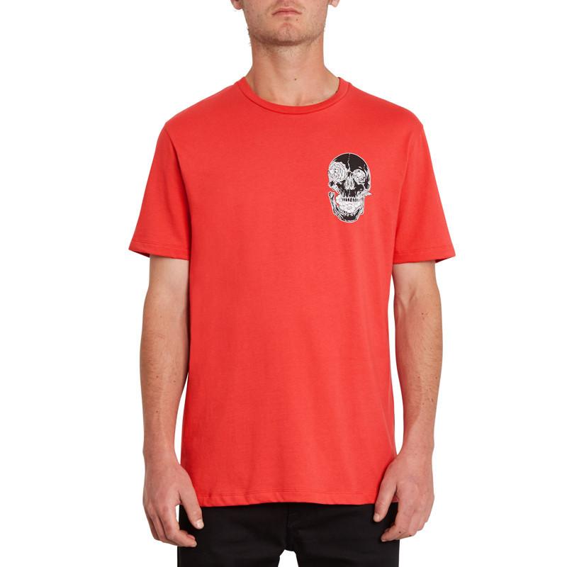 Camiseta Volcom: Fortifem Fa SS (Carmine Red)