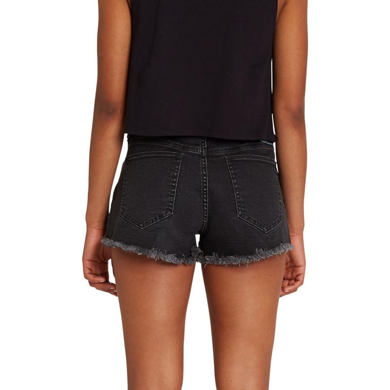 Bermuda Volcom: Stoney Stretch Short (Asphalt Black)
