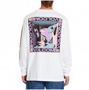 Camiseta Volcom: M Loeffler Fa LS (White) Volcom - 1
