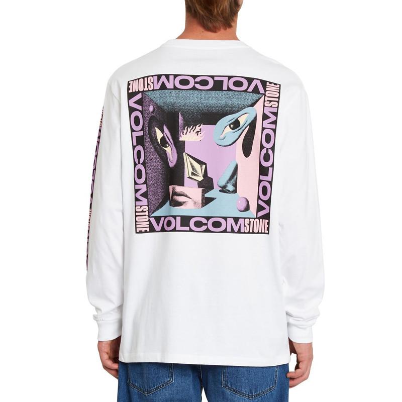 Camiseta Volcom: M Loeffler Fa LS (White)