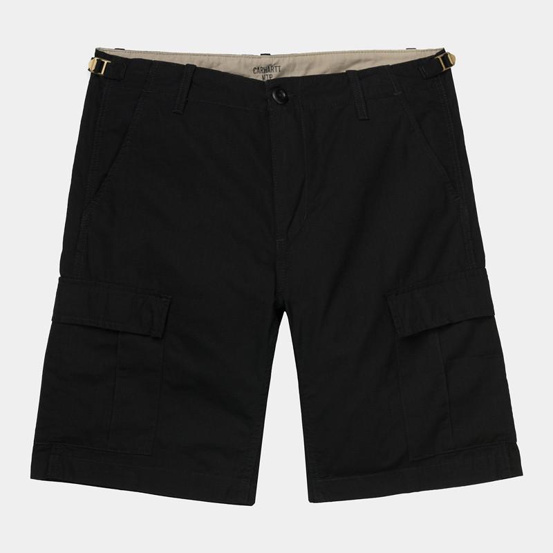Bermuda Carhartt: Aviation Short (Black)