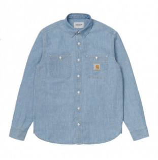 Camisa Carhartt: LS Clink Shirt (Blue) Carhartt - 1