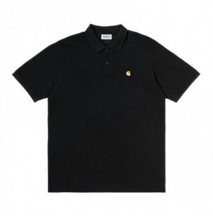 Polo Carhartt: SS Chase Pique Polo (Black Gold) Carhartt - 1