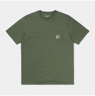 Camiseta Carhartt: SS Pocket TShirt (Dollar Green) Carhartt - 1