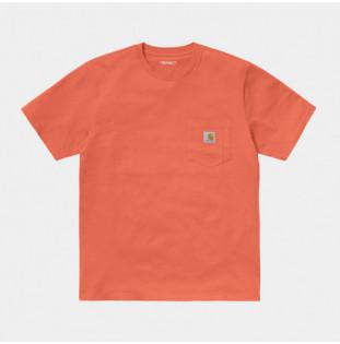Camiseta Carhartt: SS Pocket TShirt (Shrimp) Carhartt - 1