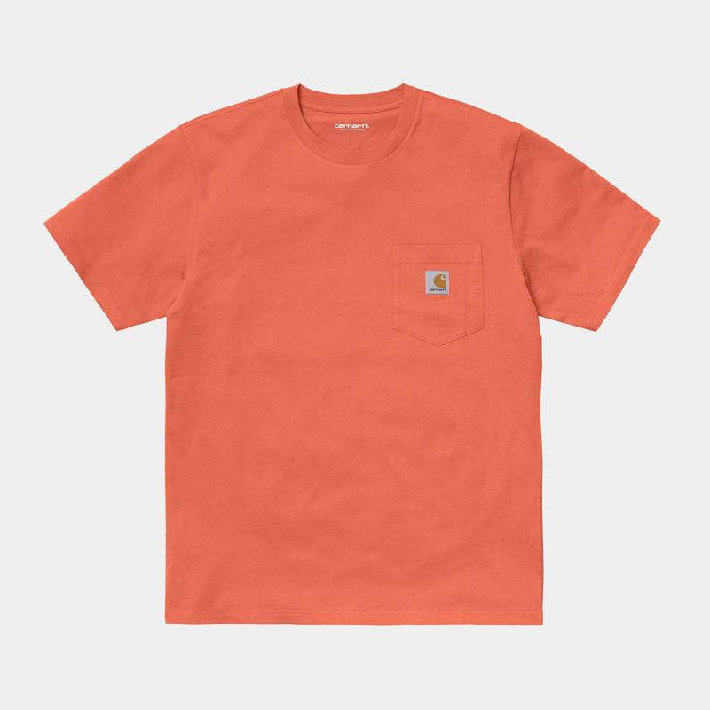 Camiseta Carhartt: SS Pocket TShirt (Shrimp)