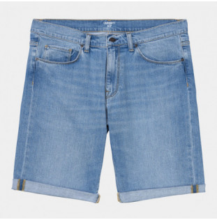 Bermuda Carhartt: Swell Short (Blue Worn Bleached) Carhartt - 1