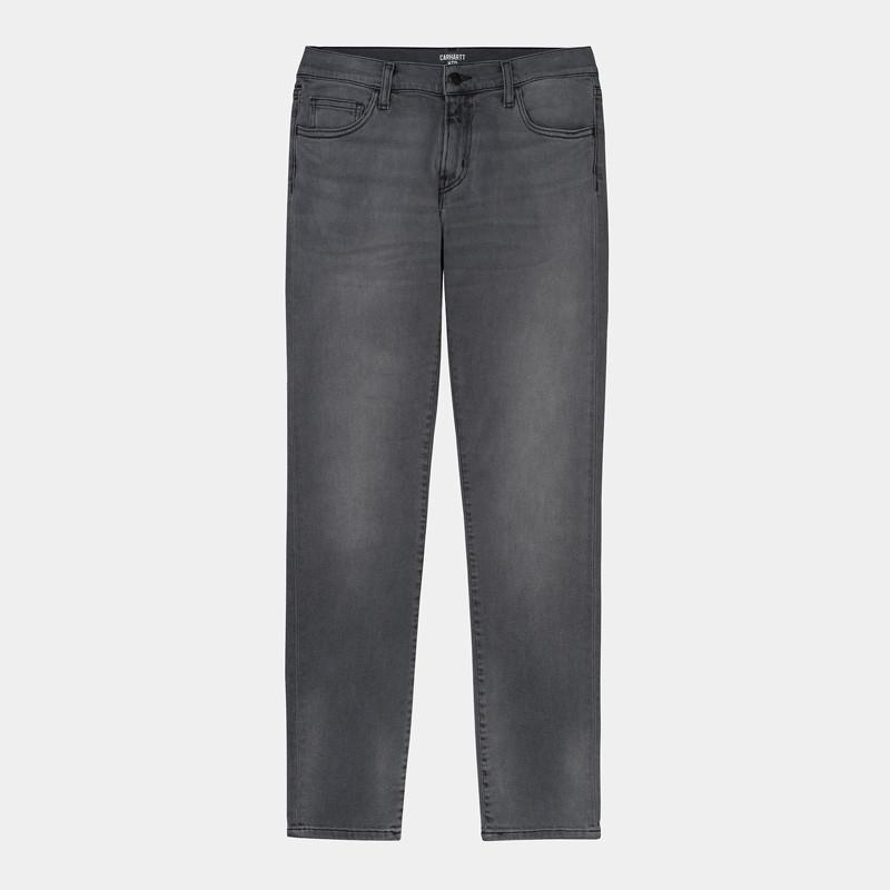 Pantalón Carhartt: Rebel Pant (Black Worn Bleached)