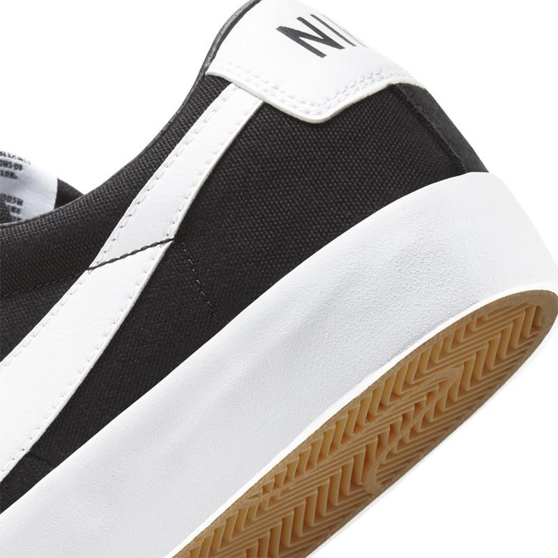 Zapatillas Nike: Zoom Blazer Low Pro GT (Bk Wt Bk Gm Lt Bw)