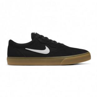 Zapatillas Nike: Chron Solarsoft (Black White Black Black) Nike - 1