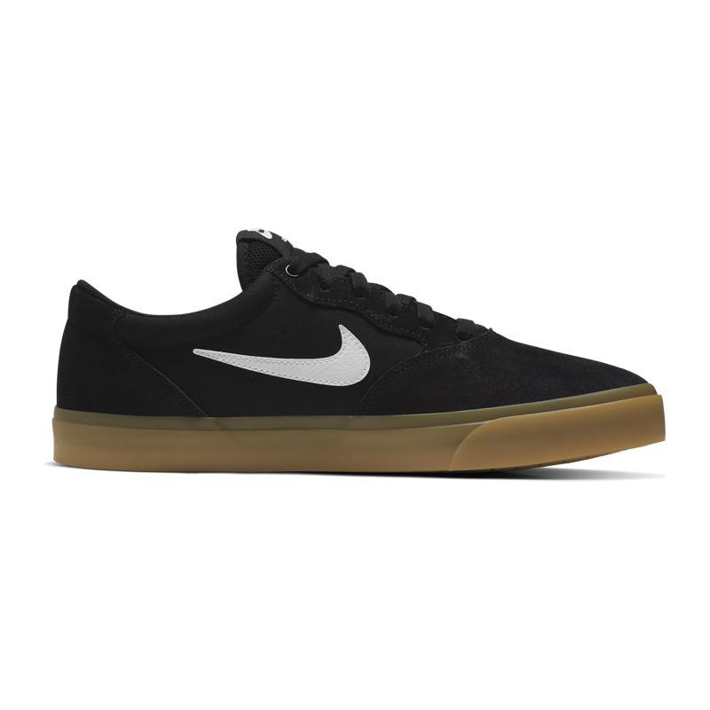 Zapatillas Nike: Chron Solarsoft (Black White Black Black)