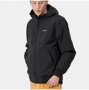 Chaqueta Carhartt: Hooded Sail Jacket (Black White) Carhartt - 1