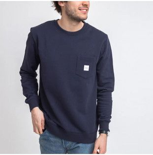 Sudadera Makia: Square Pocket Sweatshirt (Dark Blue) Makia - 1