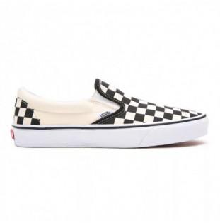 Zapatillas Vans: Ua Classic Slip On (Blk Wht Chckboard Wht) Vans - 1