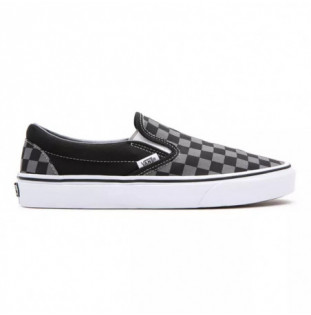 Zapatillas Vans: Ua Classic Slip On (Black Pewter Checkbrd) Vans - 1